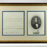 John Tyler 1842 Signed Document