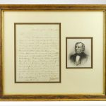 Zachary Taylor 1850 Signed Letter