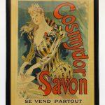"""Poster: """"COSMYDOR SAVOR / SE VEND PARTOUR"""" (IMP. CHAIX...Paris)."""