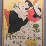 """Henri de Toulouse-Lautrec (France 1864-1901) Poster, """"Reine de Joie...."""""""