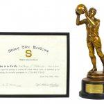 1929 Basketball Trophy