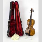 Violin, labeled