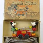 C. 1930's Lionel Mickey Mouse Rail Car