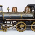 "C. 1890's ""440"" live steam locomotive"