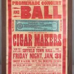 Rare Cigar Makers Broadside