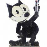 c. 1930's Everready Felix The Cat Flashlight Display