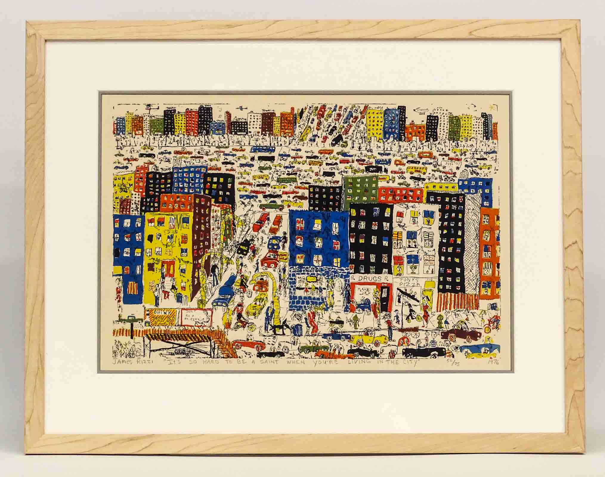 james rizzi new york 1950 2011 its so hard to be