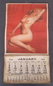Vintage Marilyn Monroe Pinup Calendar