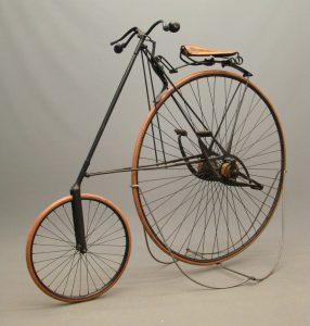 "C. 1885 ""Pony"" Star Bicycle"