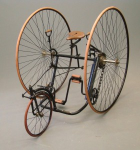 C. 1883 Starley Adult Tricycle