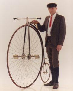 "St. Jude - 1882 52"" Columbia Expert High Wheel"