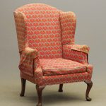 18th c. Philadelphia wing chair.