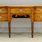 19th c. English Mahogany Sideboard