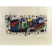 Joan Miro (Spain / France 1893-1983), signed and numbered print