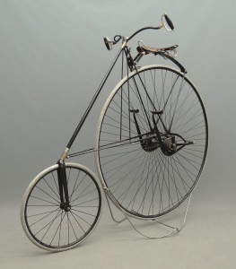C. 1889 Star highwheel bicycle, Mfg. by H.B. Smith Machine Co., Smithville N.J.