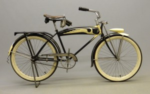 C. 1935 Monark Silver King balloon bicycle.