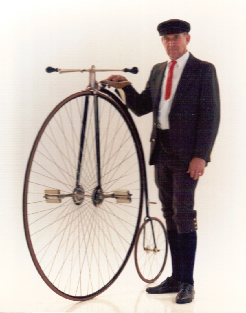 """1882 Columbia 52"""" highwheel estimated at $5,000-7,000 Donated for St. Jude from Bob Jameson"""