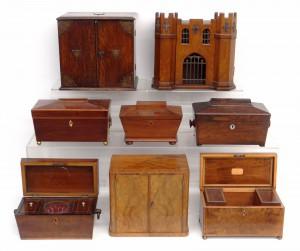 Sel. of Tea Caddies & Boxes