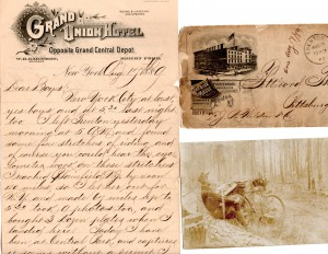 Frank George Lenz (1867-1894) Letter & photo archive lot