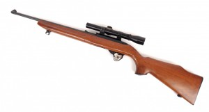 """Rugar 10/22 Carbine rifle. 37"""" L. PLEASE NOTE: We will have a FFL Dealer on site, $25.00 per"""