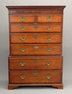 19th c. English Chest On Chest