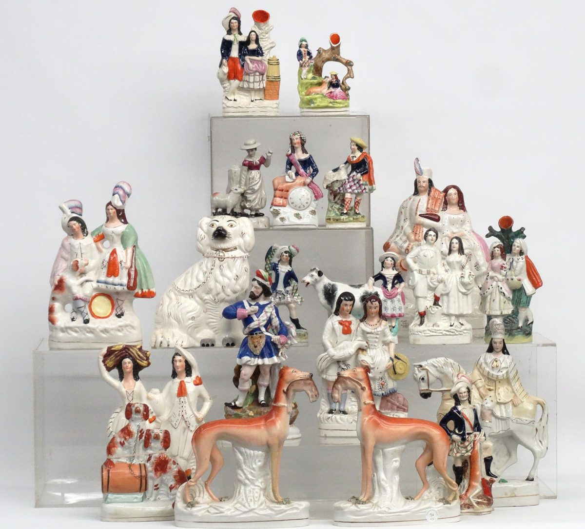 Collection of Staffordshire