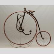 "C. 1888 Singer Extraordinary 48"" high wheel (ordinary) bicycle"