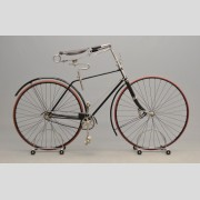 C. 1889 - 1891 Columbia light roadster hard tire safety
