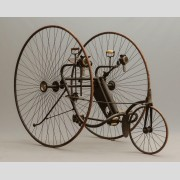C. 1884-85 Victor adult tricycle. Overman Wheel Company, Chicopee Mass