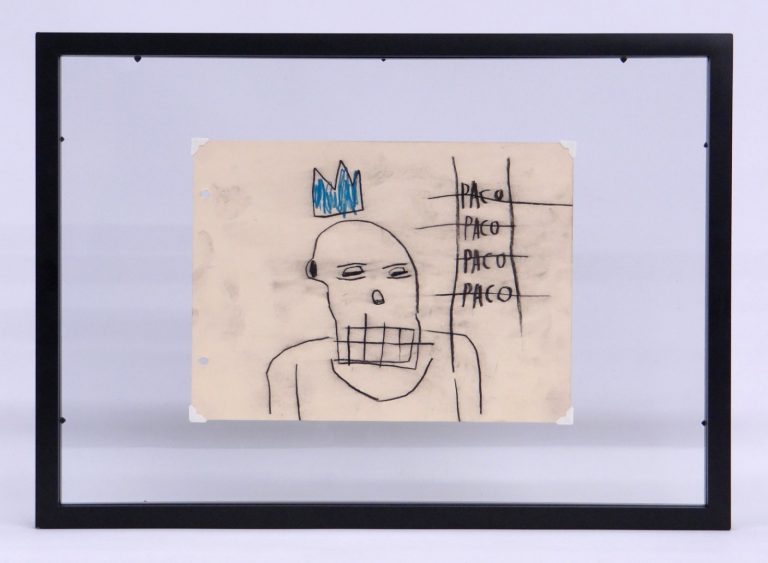 Original Jean-Michel Basquiat (N.Y. 1960-1988)