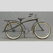 1937 Elgin Bluebird in optional 'gunmetal' gray color with original plating and painted surfaces