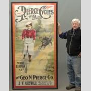 19th c. Pierce Poster Framed