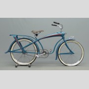 C. 1937 Elgin Bluebird balloon bicycle