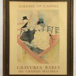 """Henry Toulouse-Lautrec (France 1864-1901), """"Galerie '65 Cannes""""/""""Gravures Rares De Grands Maitres""""."""