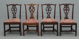 18th c. Newport Chippendale Chairs