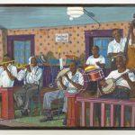 """Edwin Keiffer (1921-1997), """"San Jacintos Dance Hall"""", oil on canvas"""