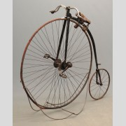C. 1880's Springfield Roadster High Wheel Bicycle