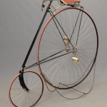 C. 1890 Eagle Roadster High Wheel Safety Bicycle
