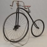 C. 1890's Krypto High Wheel Bicycle