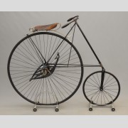 C. 1880's Pony Star High Wheel Safety Bicycle