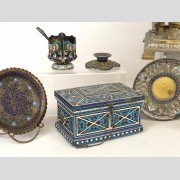 Misc. Lot Including Russian Metalware