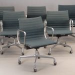 Lot 691. Set Of (6) Herman Miller Chairs