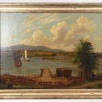 Lot 100. Attributed to Albertus Del Orient Browere (N.Y./Cal. 1814-1887), oil on canvas