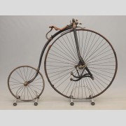 C. 1890's Facile High Wheel Safety Bicycle