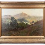Lot 570. Arthur William Best (Cal./Az./Canada 1859-1935), oil on canvas