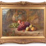 Lot 67. Charles Archer (United Kingdom 1855-1931), 19th c. still life, oil on canvas