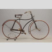 C. 1890's English Hard Tire Safety Bicycle