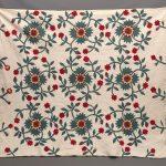 19th c. Floral Applique quilt.
