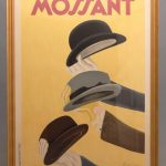 "Early French poster ""MOSSANT"" by Leonetto Cappiello (France 1875-1942), printed by Edimo Paris."