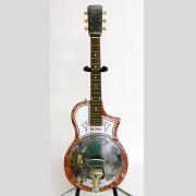 C. 1950's National Reso-Phonic resonator guitar, serial #1-62055.